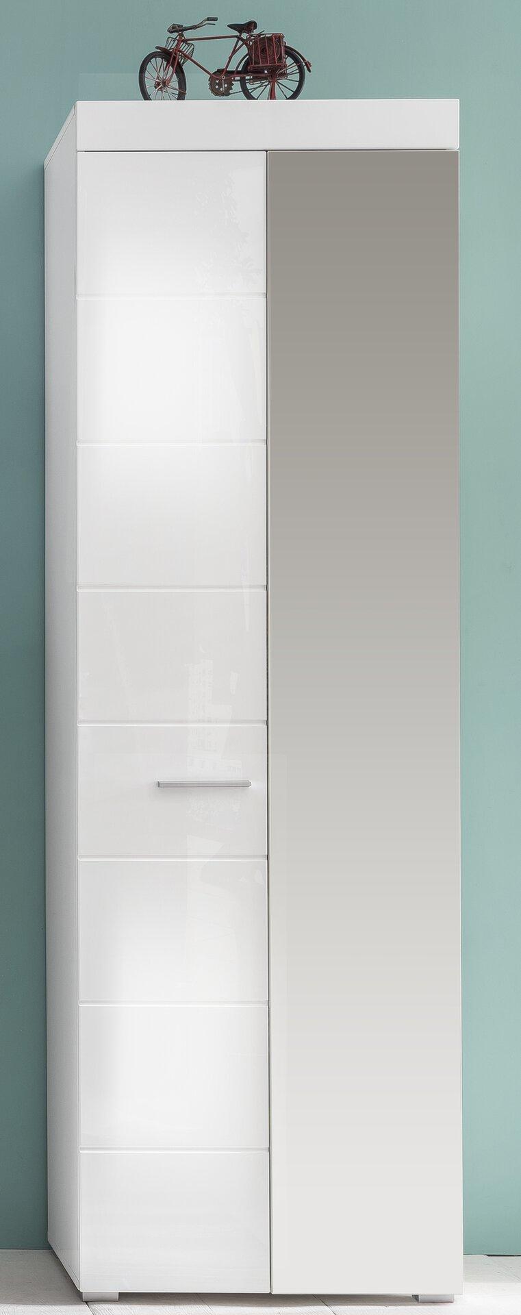 Garderobenschrank AMANDA inDoor Holzwerkstoff 2 x 1 cm