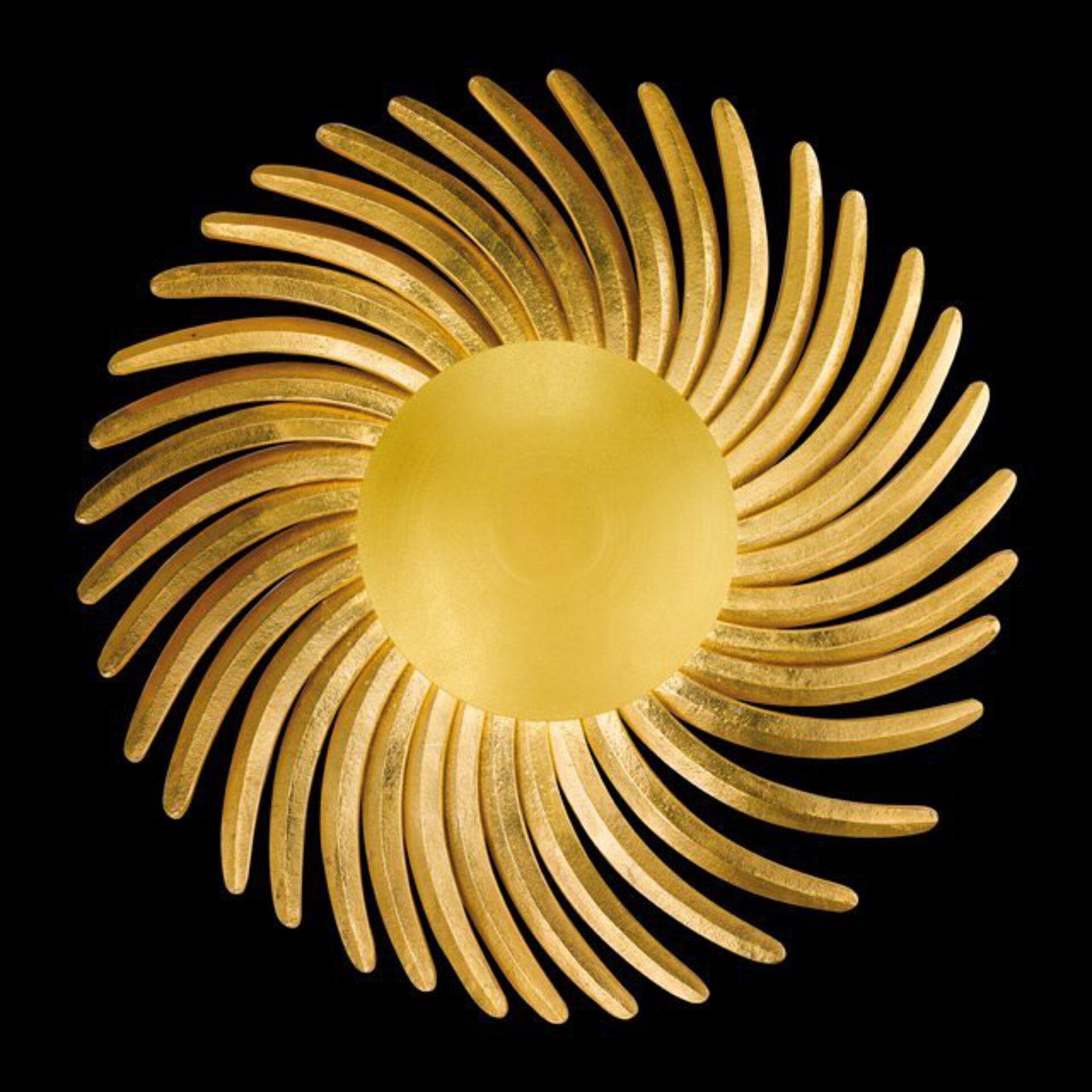Wandleuchte Bordeaux Fischer-Honsel Metall gold 80 x 80 cm