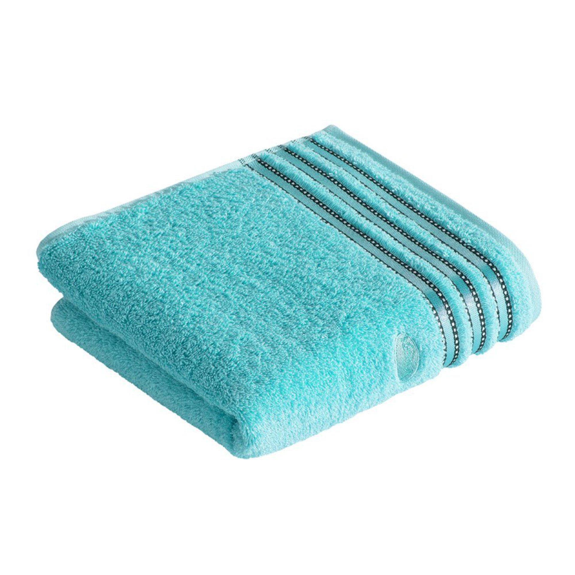 Handtuch Cult de Luxe Vossen Textil Blau 1 x 1 cm