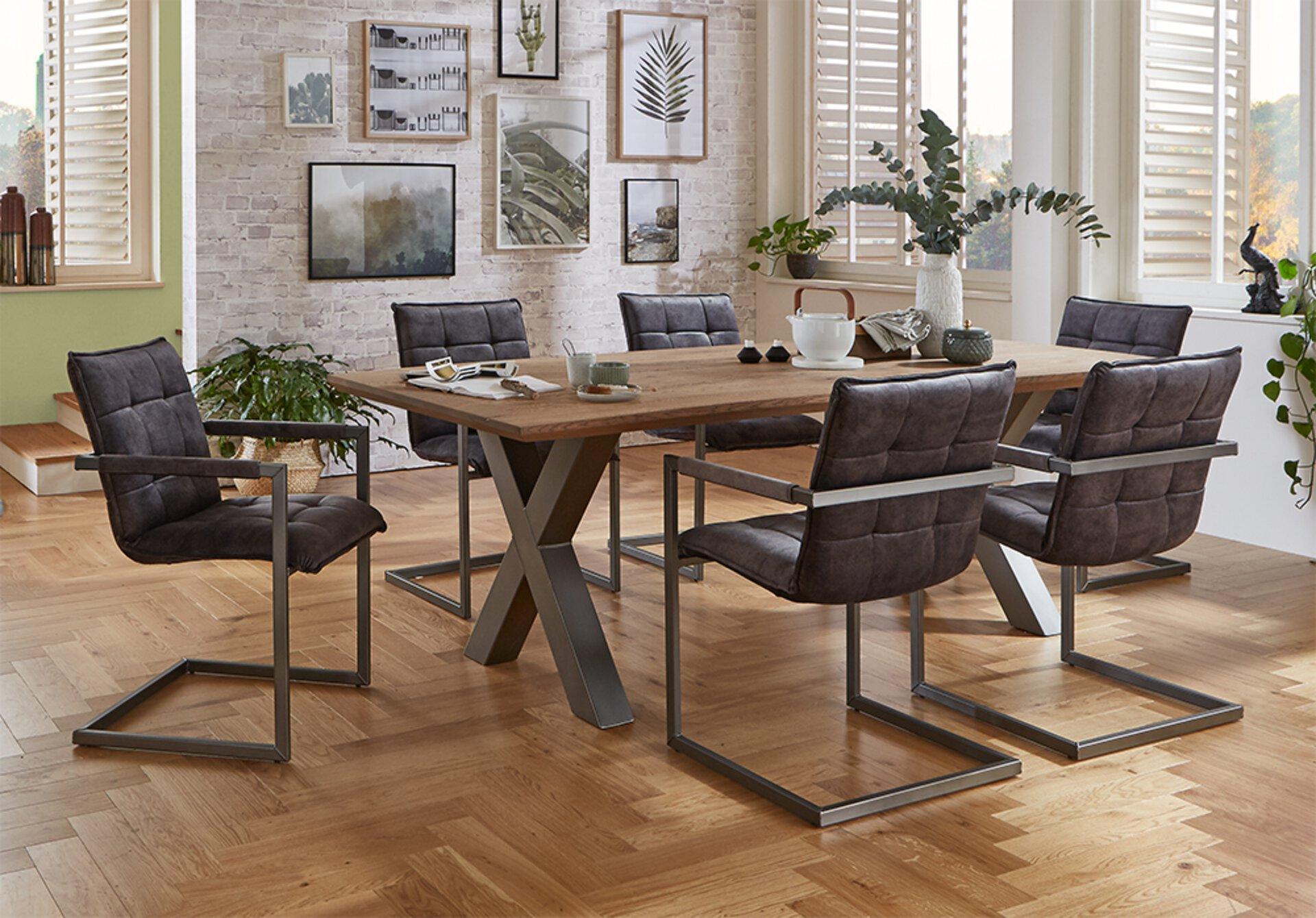 Stuhl CAPPO VALMONDO Textil mehrfarbig 63 x 87 x 56 cm