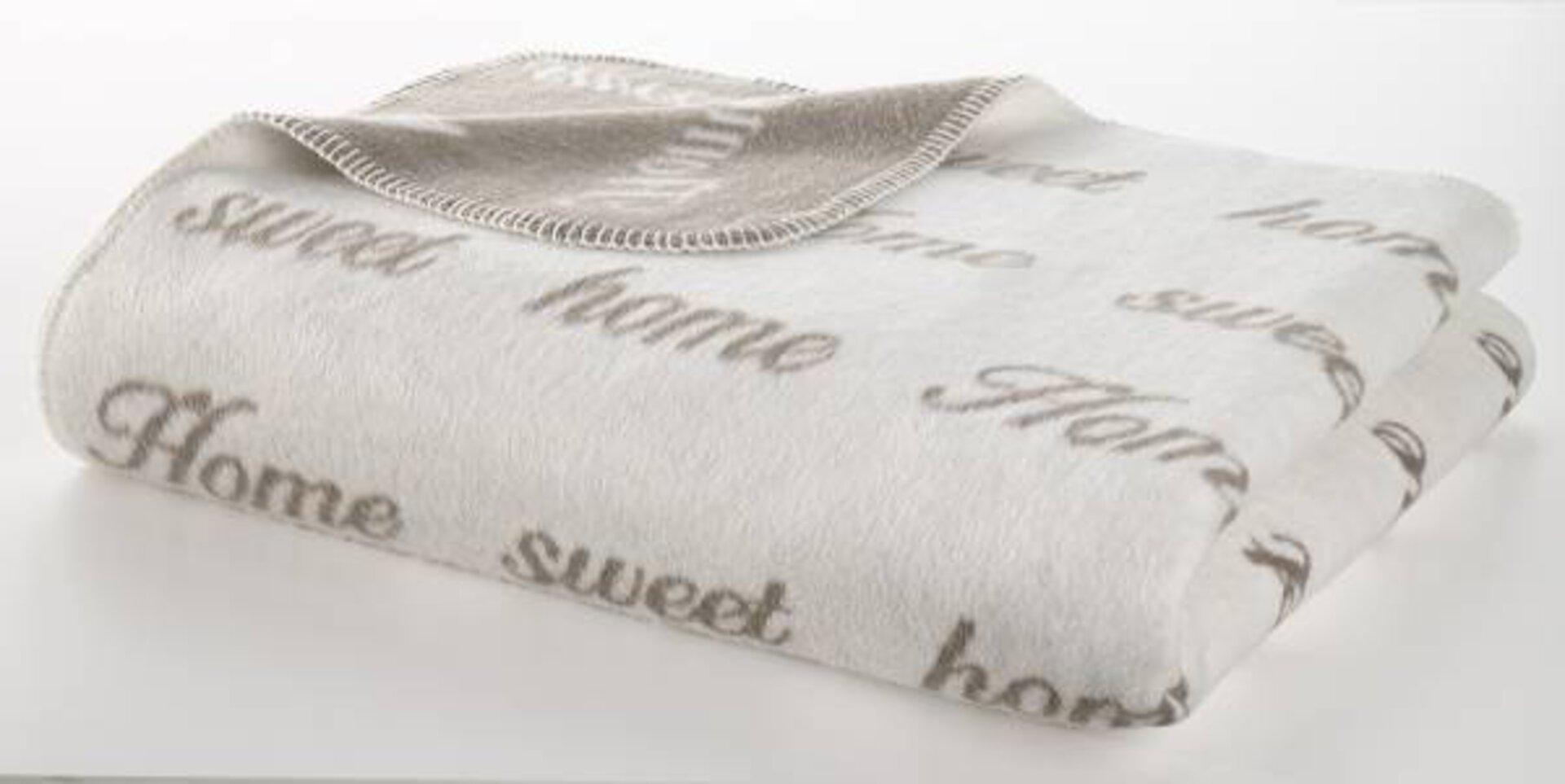 Jacquard Decke Sweet Home Casa Nova Textil 150 x 200 cm