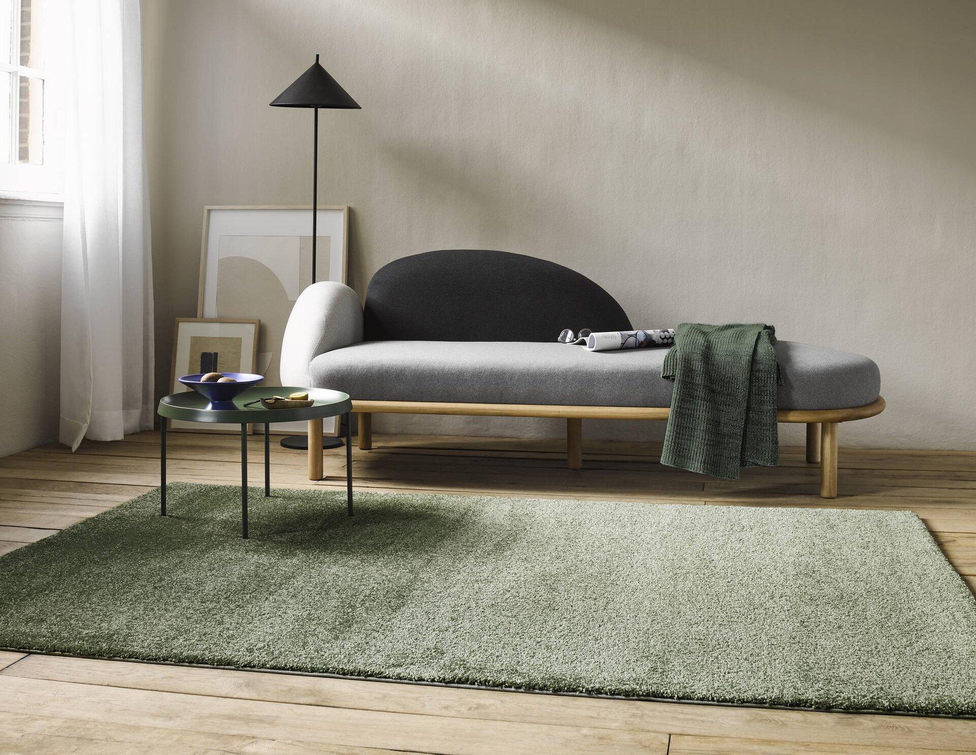Maschinenwebteppich CALIFORNIA 22937 Esprit Textil grün 80 x 2 x 150 cm