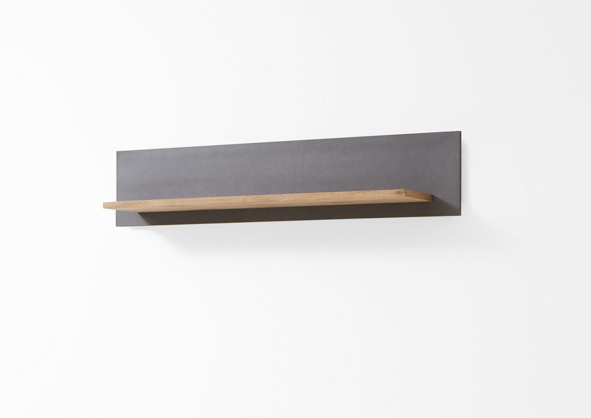 Wandbord CHARON MONDO Holzwerkstoff mehrfarbig 25 x 29 x 140 cm