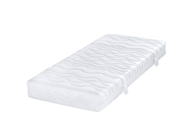 Taschenfederkernmatratze TFK1000 Breckle Textil Weiss