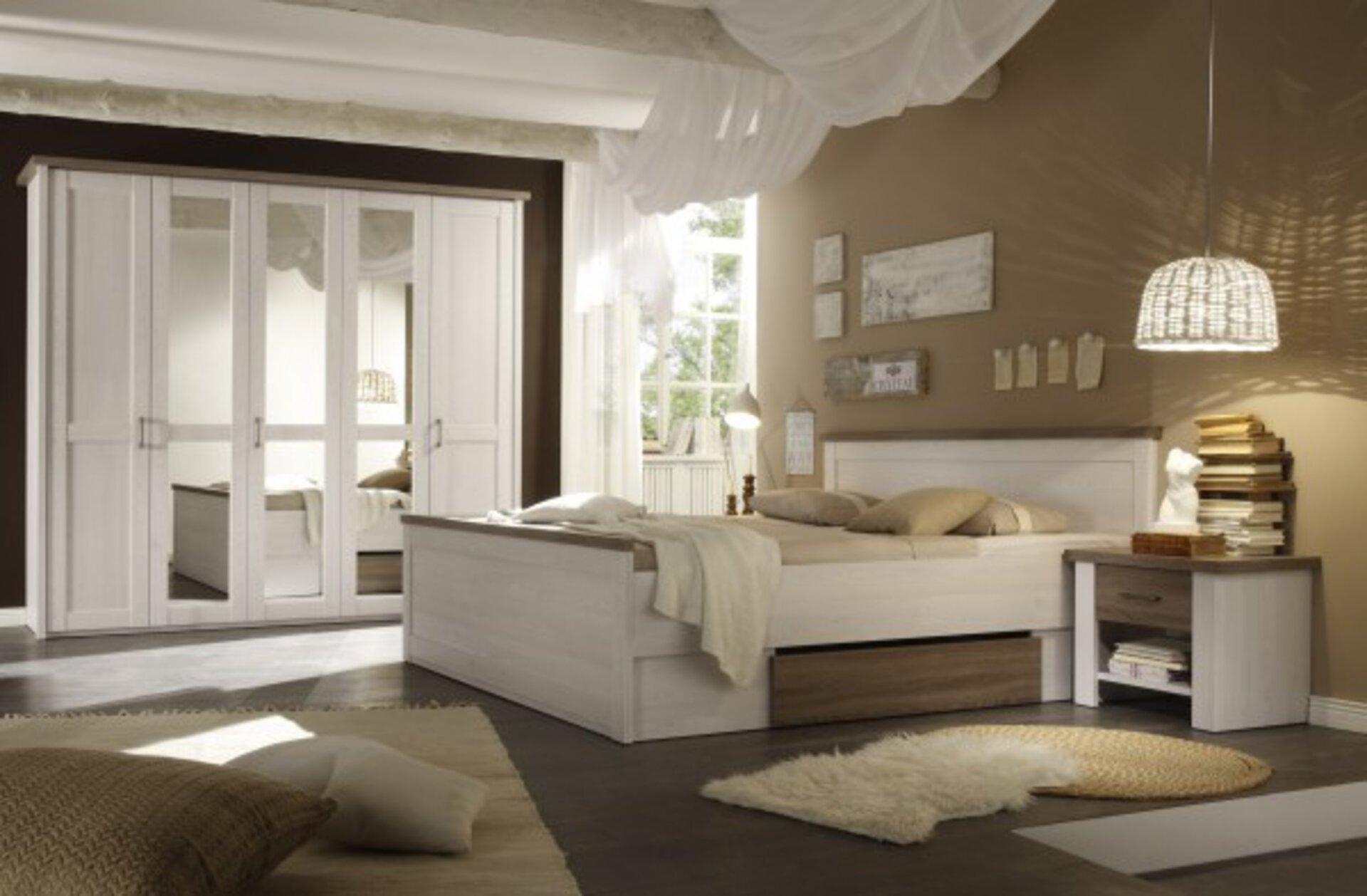 Schlafzimmer LUCA Dreamoro Holzwerkstoff