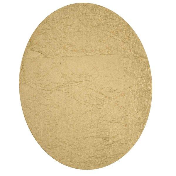 Wandleuchte Wofi Leuchten Metall gold ca. 17 cm x 4 cm x 17 cm