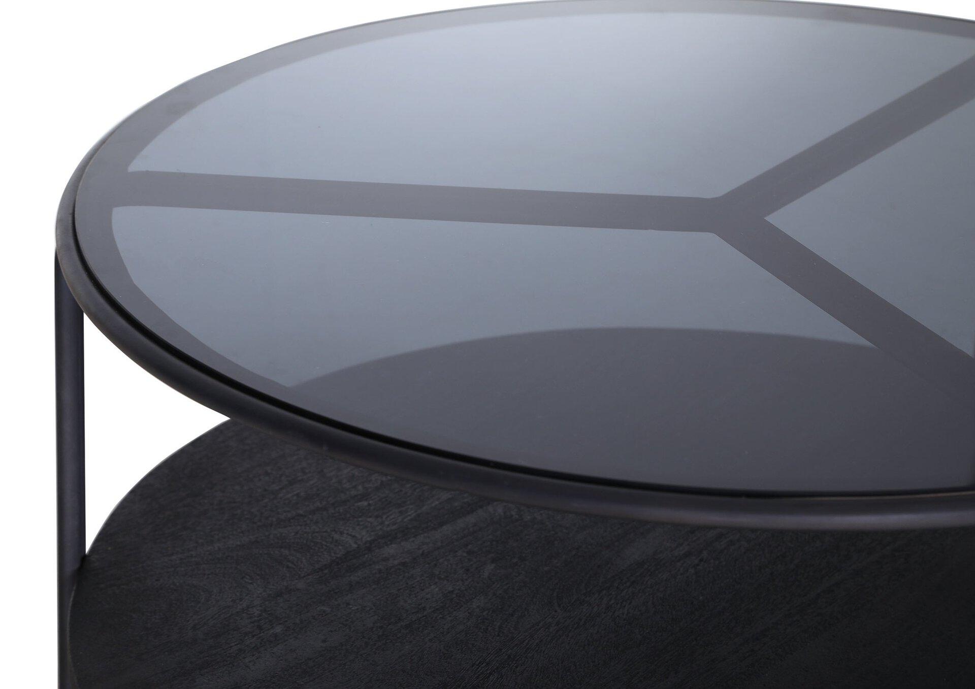 Couchtisch BLACK BETTY Gutmann Factory Metall 41 x 86 cm