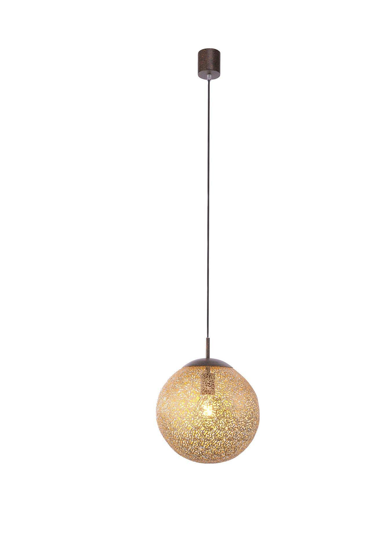 Hängeleuchte GRETA Paul Neuhaus Metall braun 30 x 140 x 30 cm