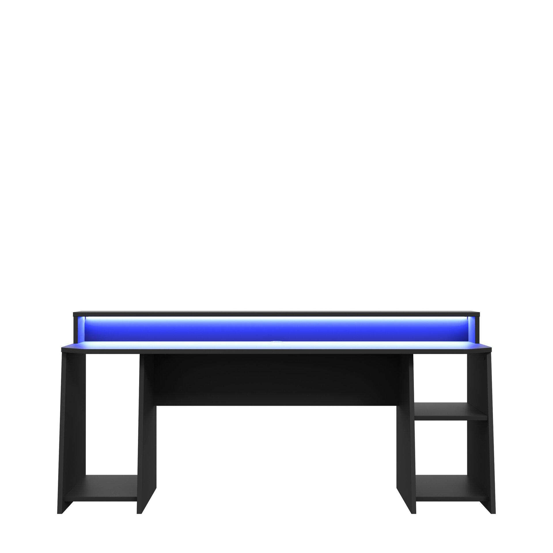 Schreibtisch TEZAUR Forte Holzwerkstoff 72 x 91 x 200 cm