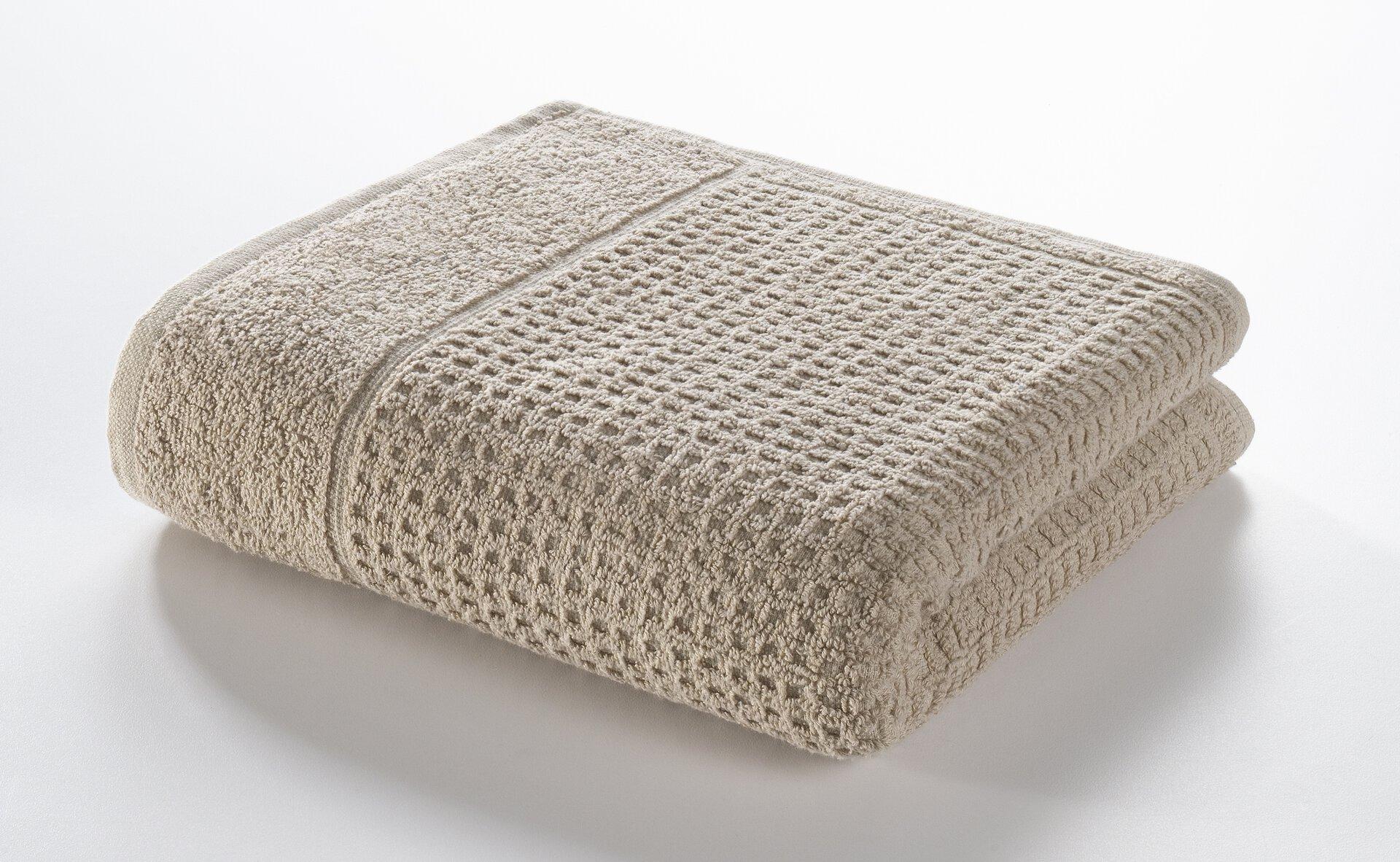 Handtuch Faro Casa Nova Textil beige 50 x 100 cm