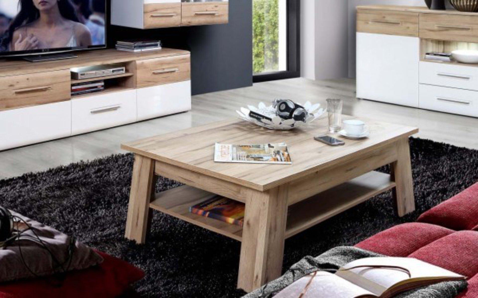 Beistelltisch CARTAGO LIV'IN Holzwerkstoff mehrfarbig 1 x 1 cm