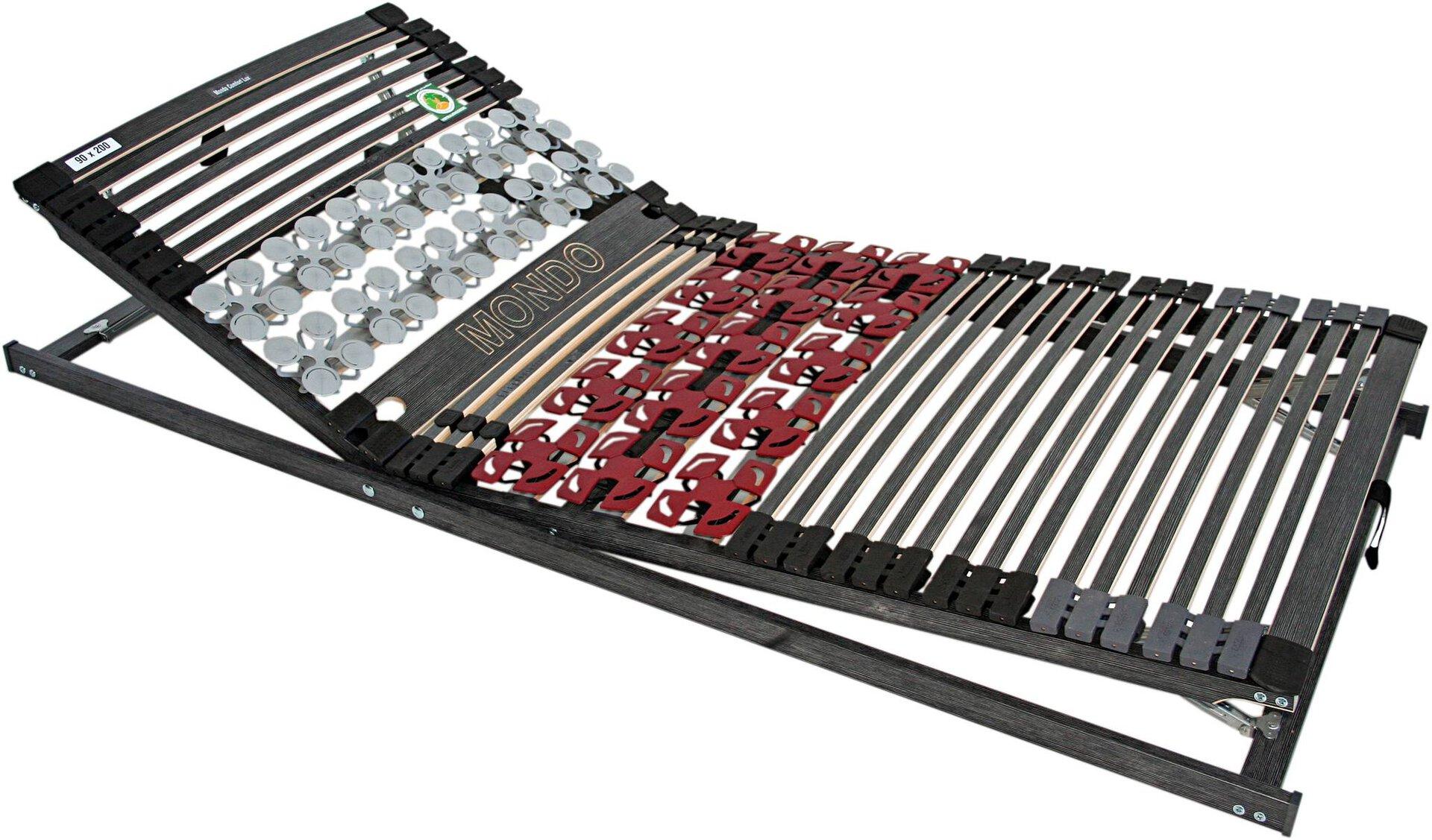 Lattenrost Superia Star KF MONDO Kunststoff schwarz 80 x 9 x 200 cm
