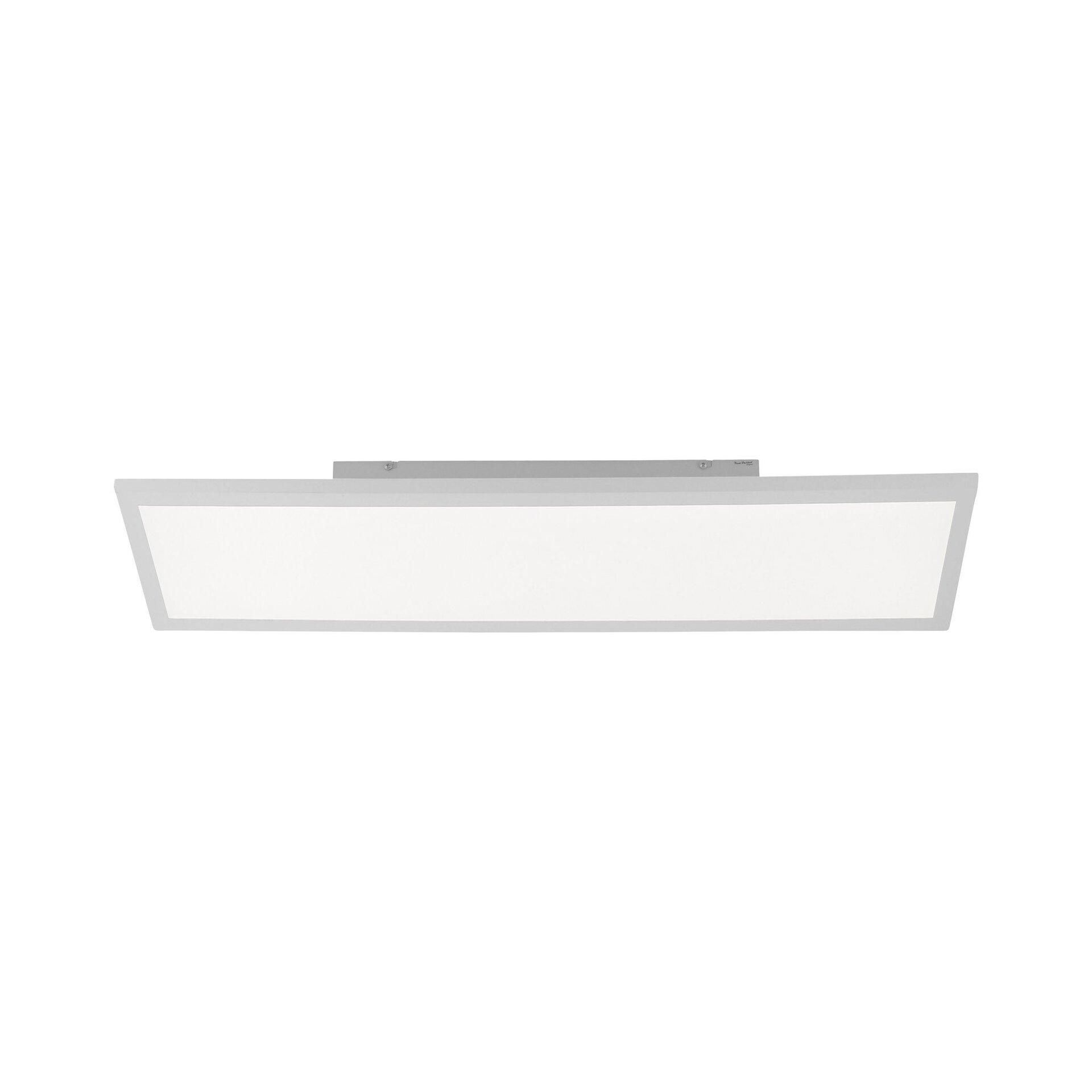 Deckenleuchte FLEET Leuchtendirekt Kunststoff weiß 30 x 7 x 60 cm