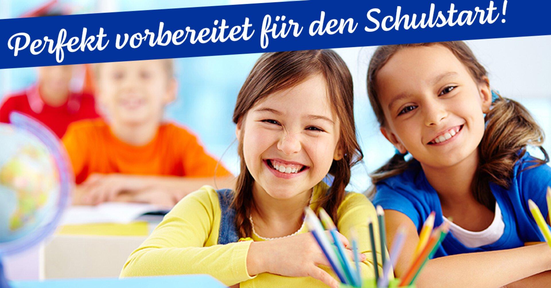 """Bannerbild """"Perfekt vorbereitet für den Schulstart"""""""