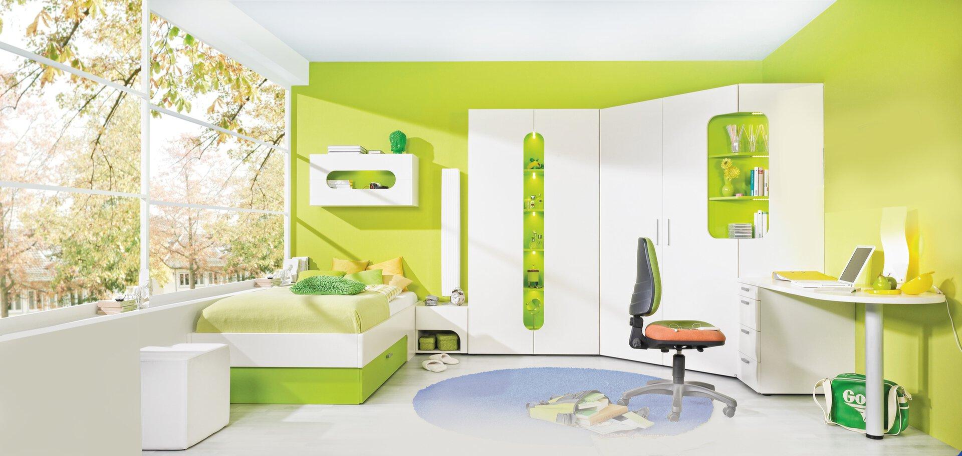 Kinderschrank MAX-I Möbelfabrik Rudolf Holzwerkstoff weiß 2 x 1 cm