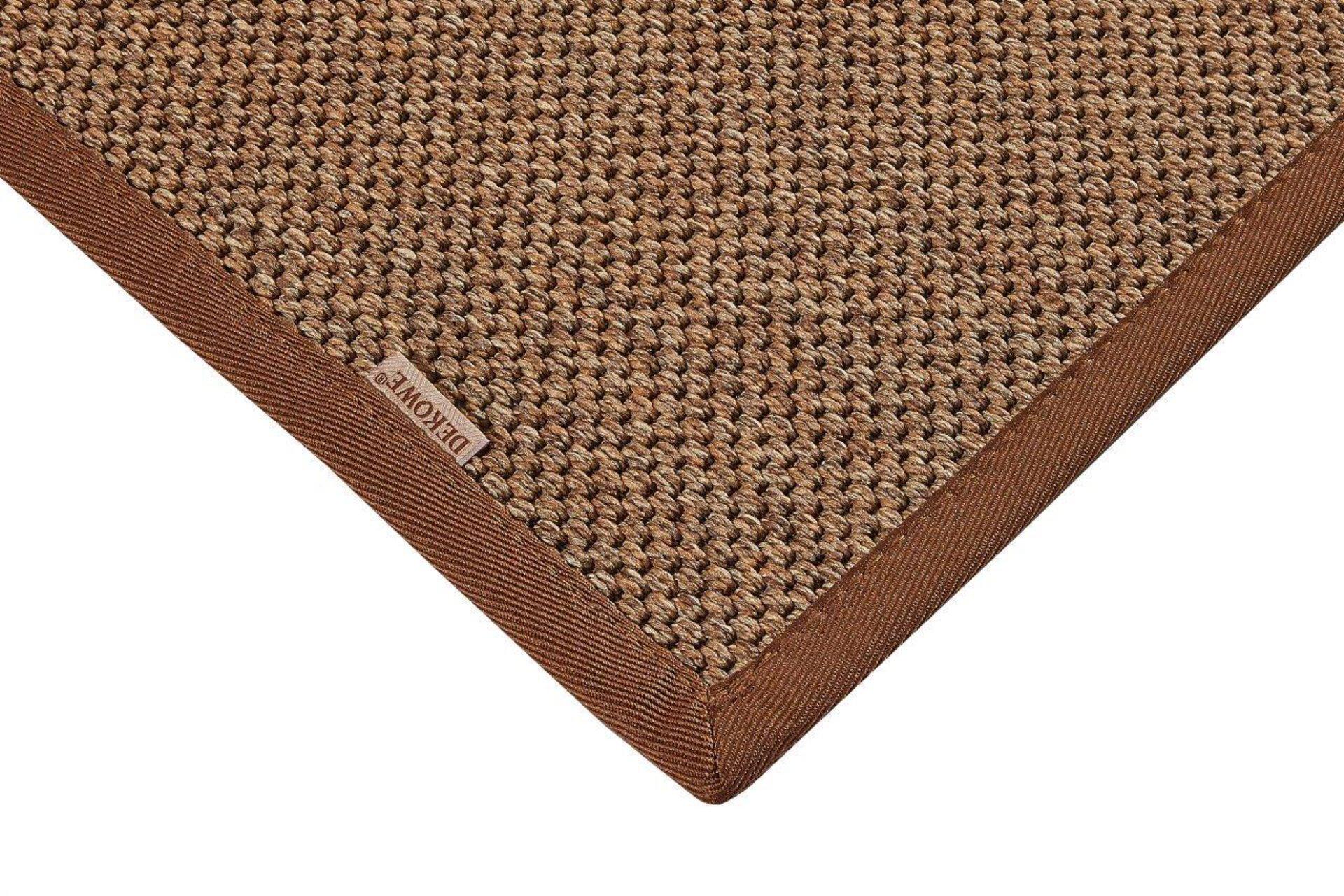 Outdoorteppich Naturino Prestige S1 DEKOWE Textil braun 67 x 133 cm