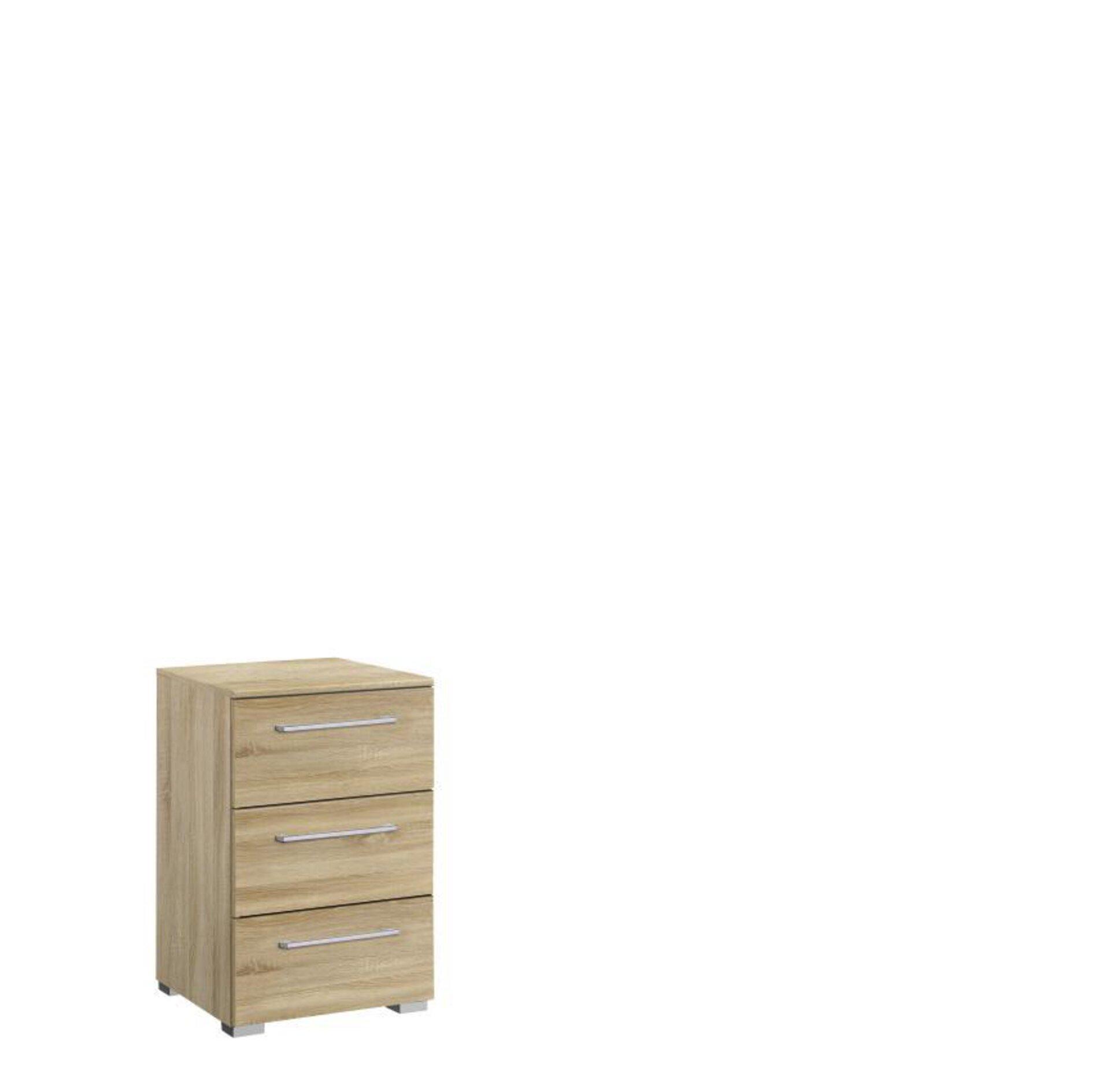 Nachttisch ALLSTARS Vito Holzwerkstoff braun 42 x 61 x 40 cm