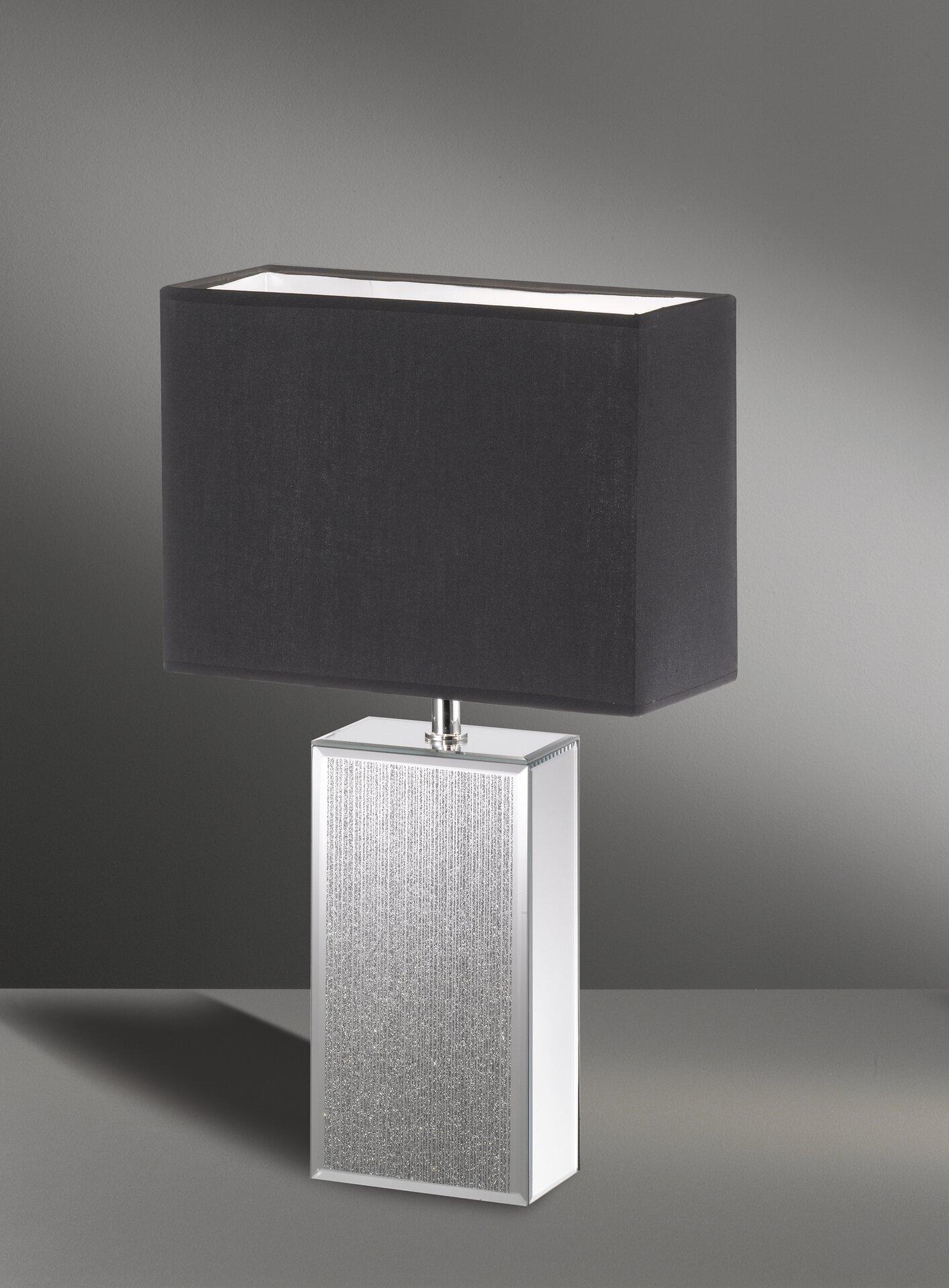 Tischleuchte Bert Fischer-Honsel Metall grau 22 x 50 x 30 cm