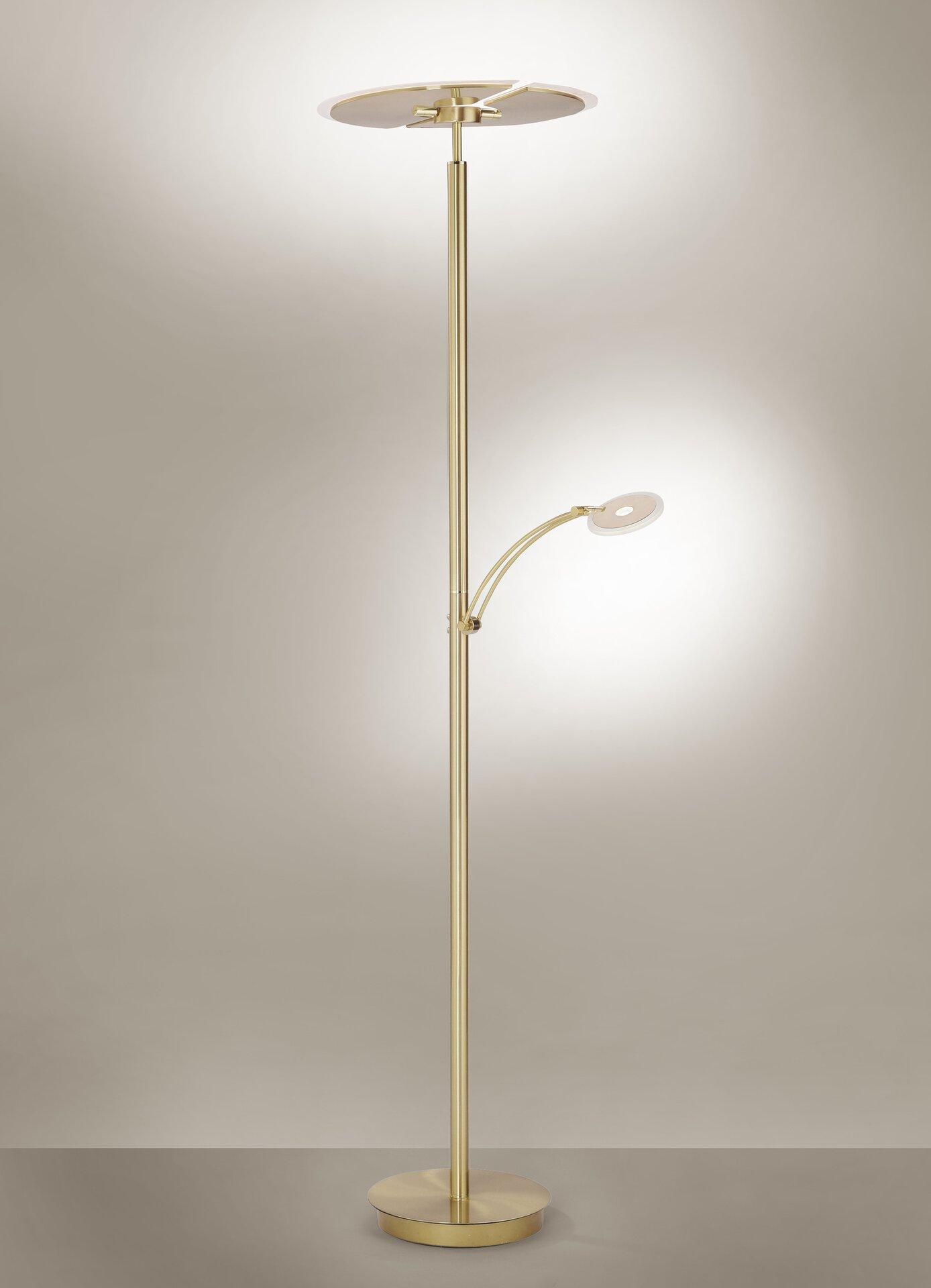 Stehleuchte ARTUR Paul Neuhaus Metall gold 46 x 200 x 62 cm