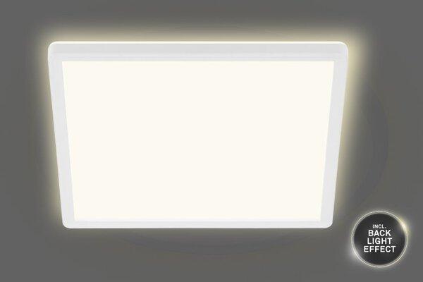 Deckenleuchte Briloner Metall weiß ca. 42 cm x 3 cm x 42 cm