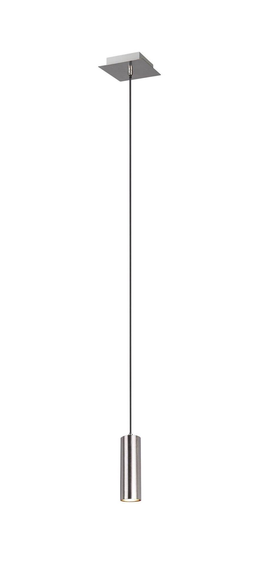 Pendelleuchte Marley Trio Leuchten Metall silber 150 x 12 cm