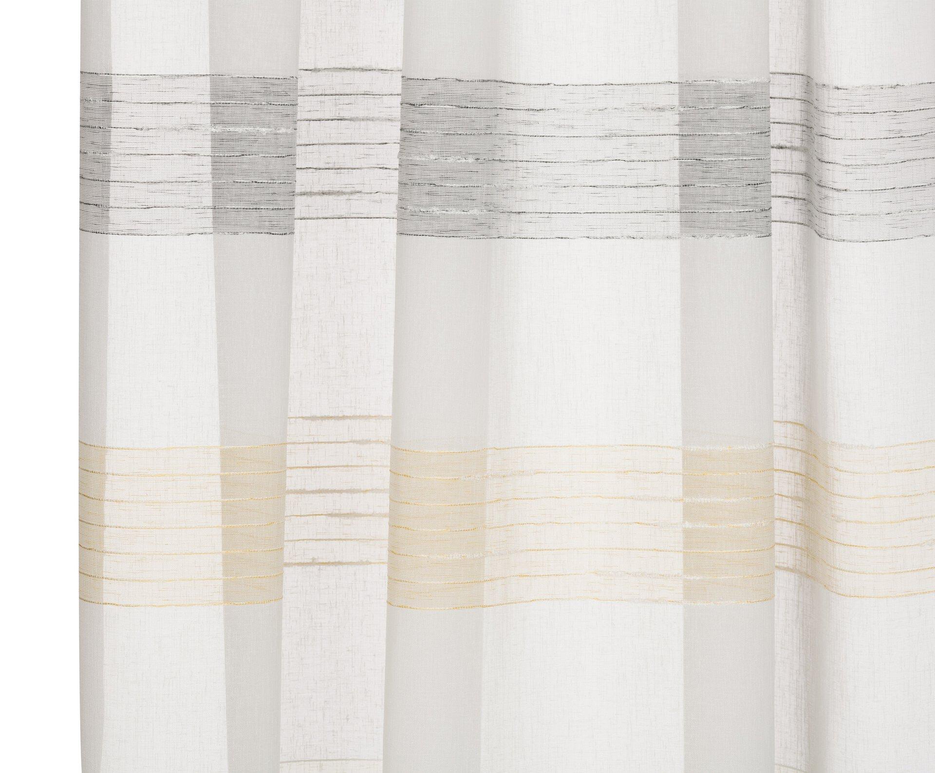 Schlaufenschal Chianti Ambiente Trendlife Textil gelb 140 x 245 cm