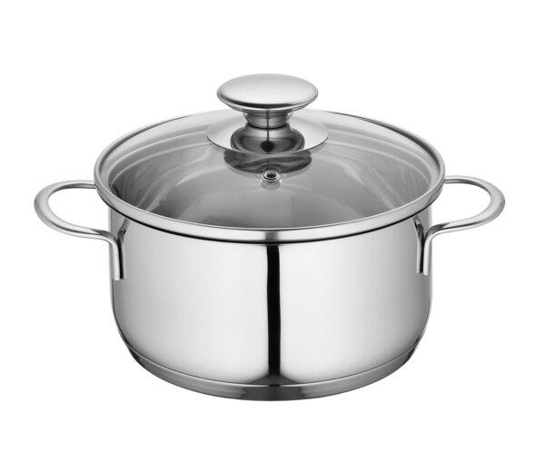 Kochgeschirr Küchenprofi Metall silber