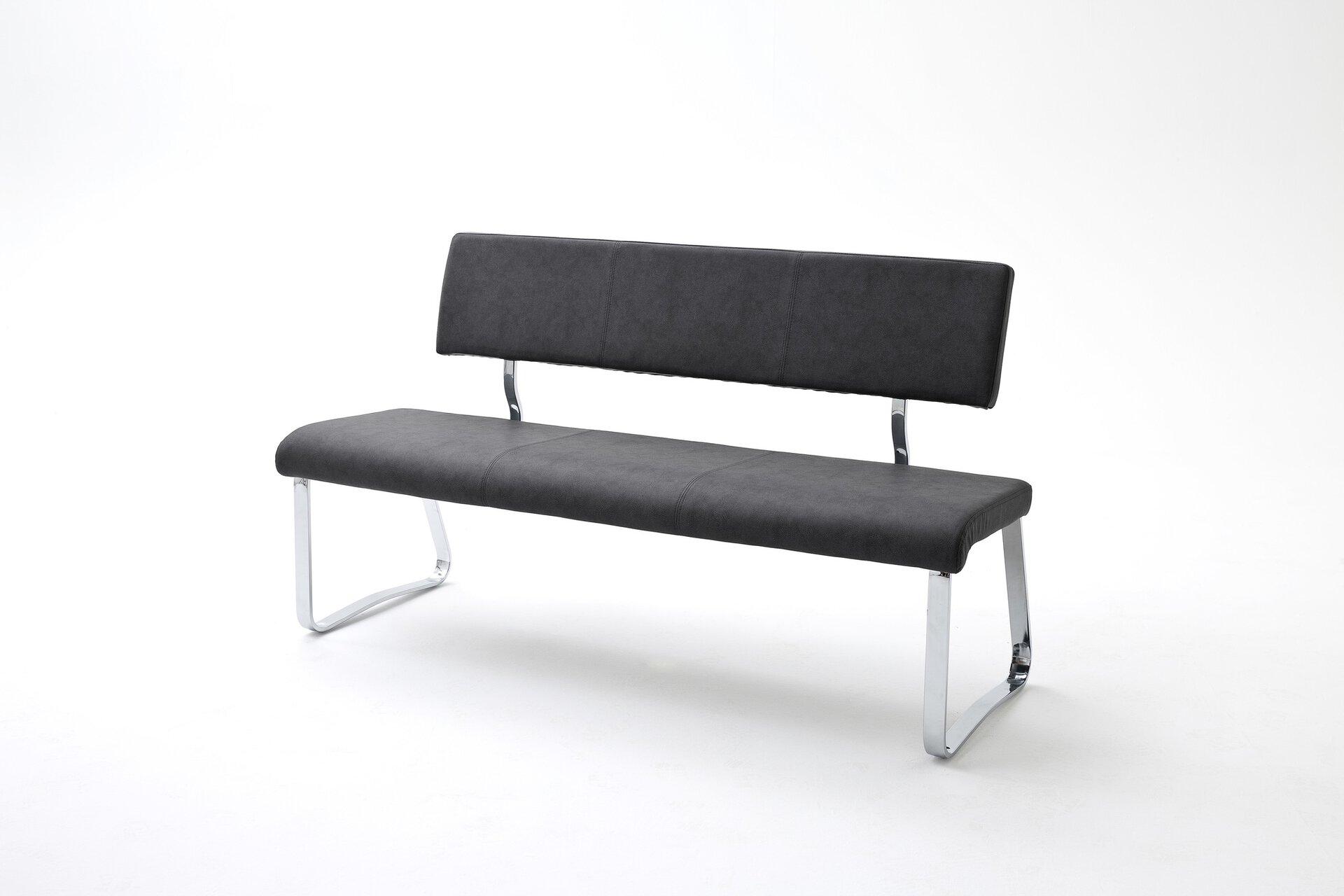 Sitzbank TIA MCA furniture Textil mehrfarbig 58 x 85 x 155 cm