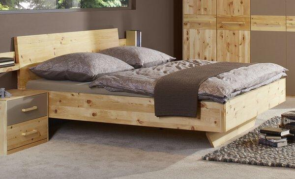 Bett Lip Pohistvo Holz Zirbe Natur Öl ca. 190 cm x 105 cm x 212 cm