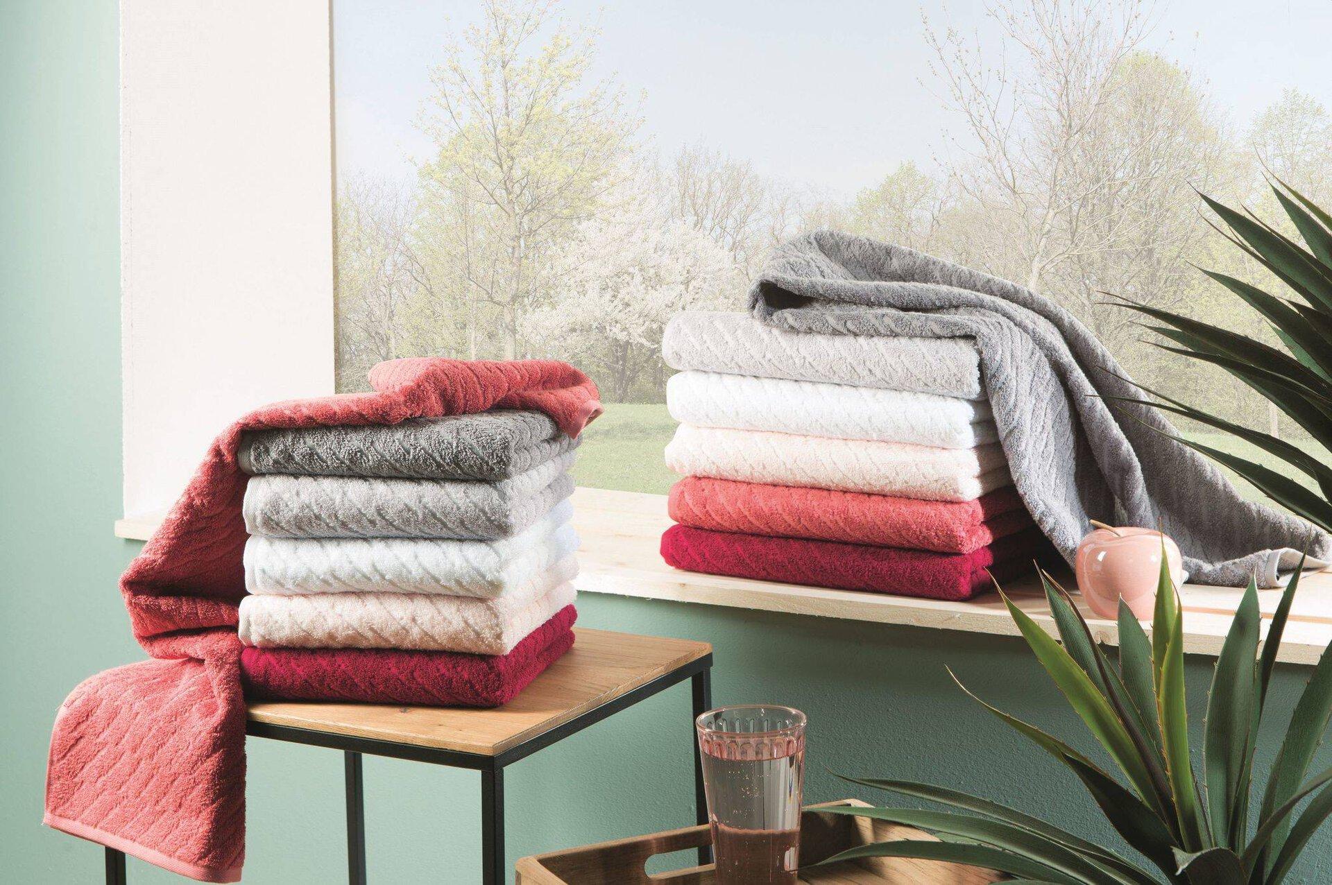 Duschtuch Snuggy Vossen Textil rot