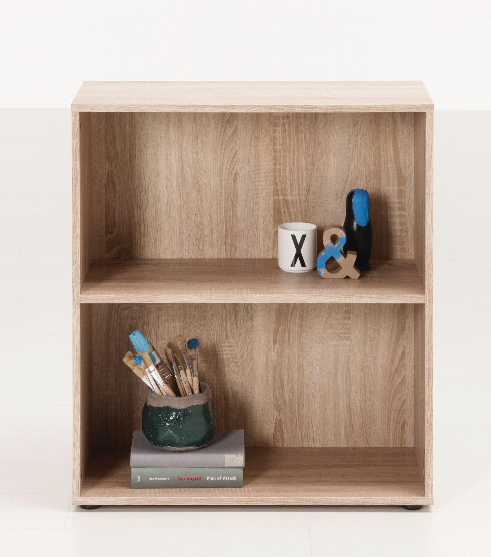 Regal FIONA SELF Holzwerkstoff braun 30 x 80 x 70 cm