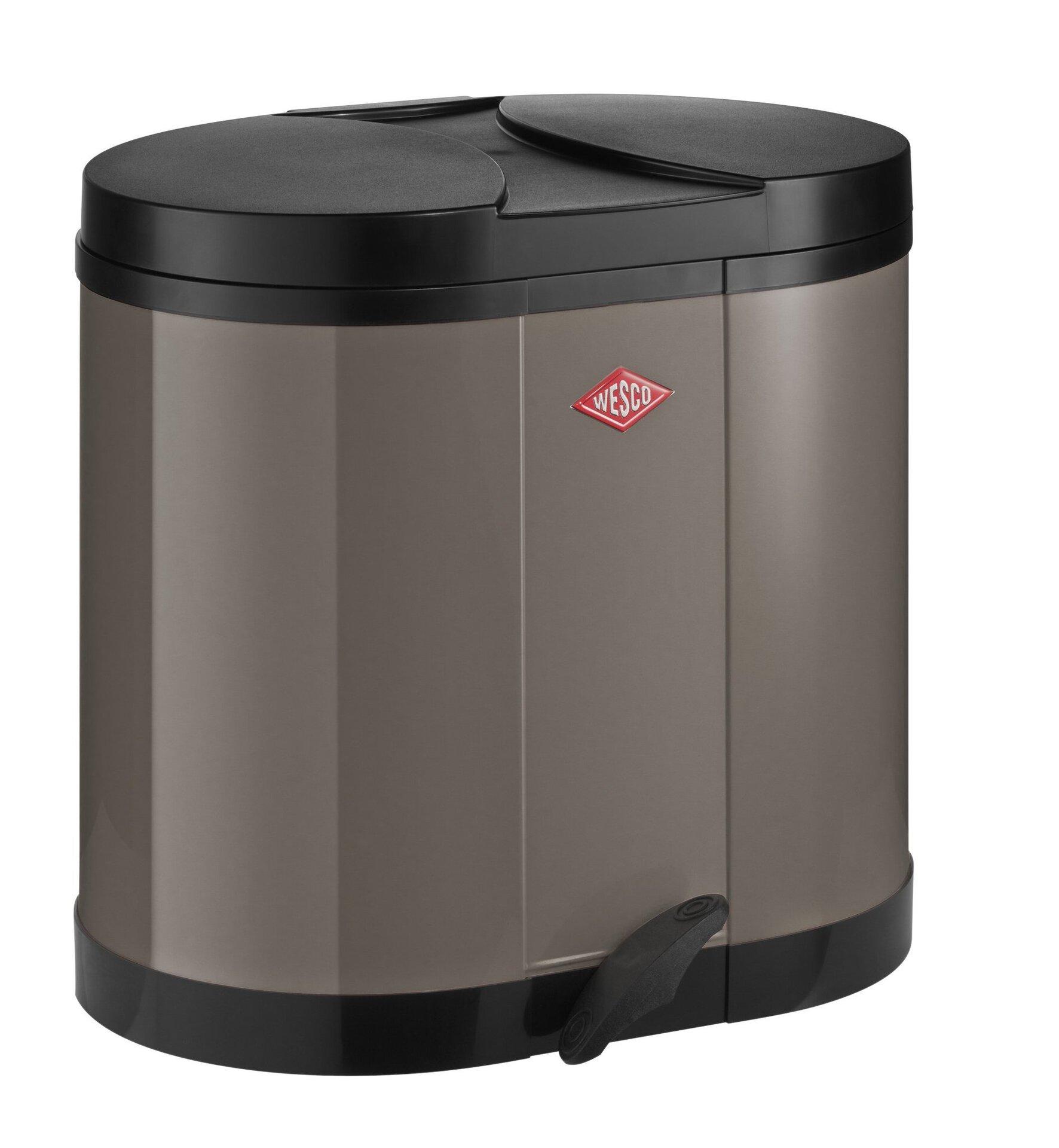 Müllbehälter Wesco Metall 45 x 43 x 36 cm
