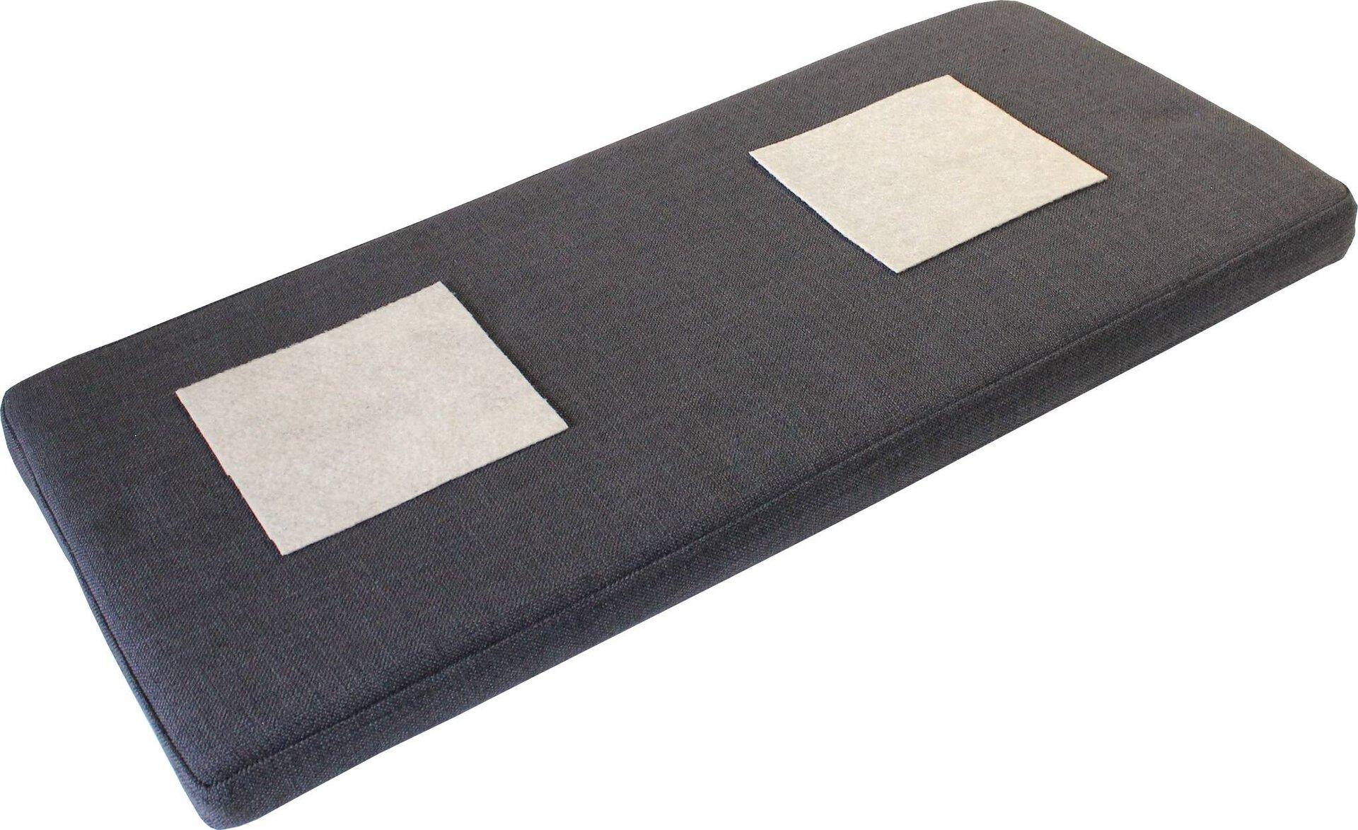 Kissen SINTARA Germania Textil grau 35 x 5 x 95 cm