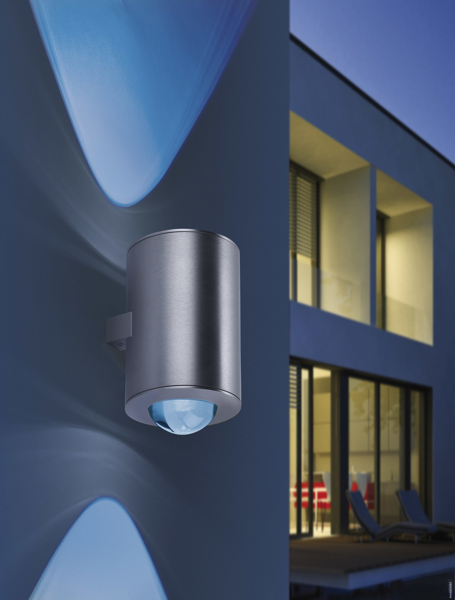 Smart-Home-Leuchten Q-SASCHA Paul Neuhaus Metall 12 x 21 x 15 cm