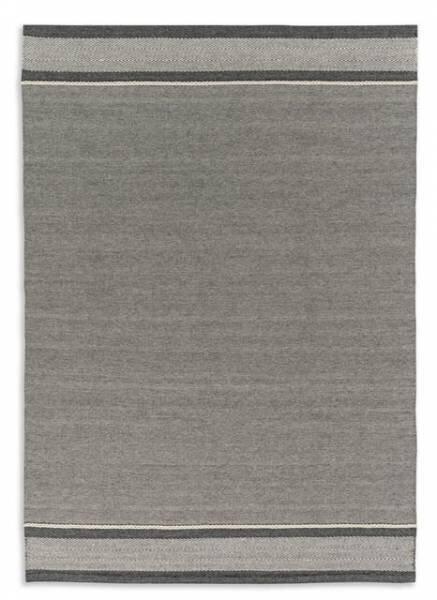 Handwebteppich Schöner Wohnen Textil D191 C045 Blockstreifen
