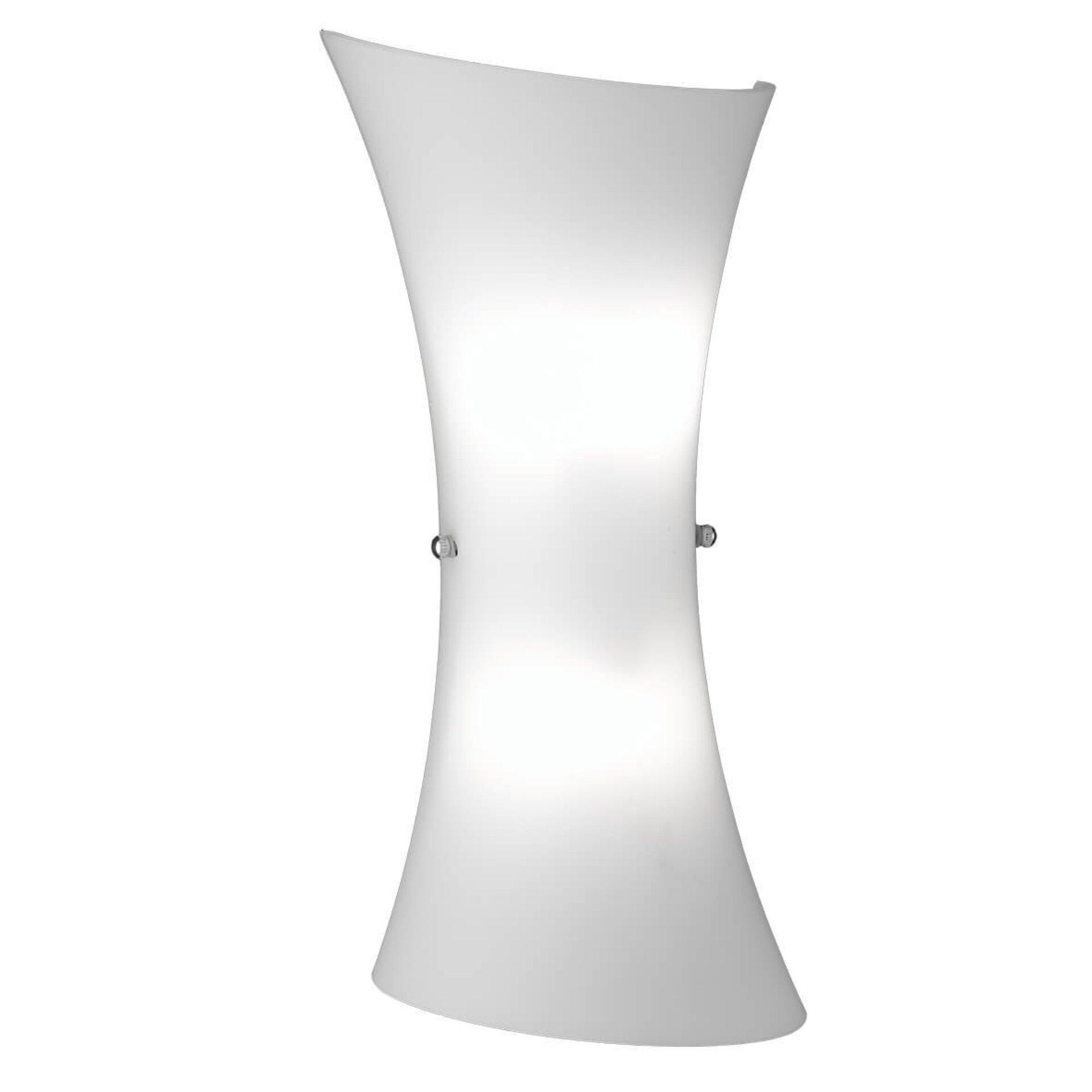 Wandleuchte Zibo Wofi Leuchten Glas 8 x 35 x 16 cm