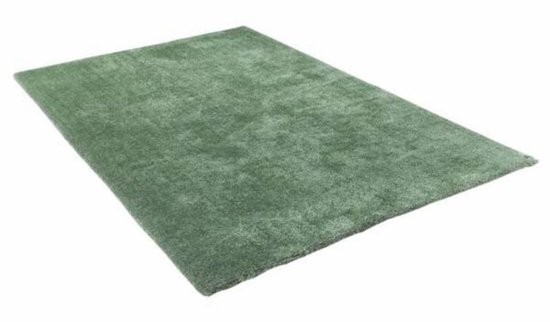 Hochflorteppich Soft Tom Tailor Textil grün 1 x 1 cm