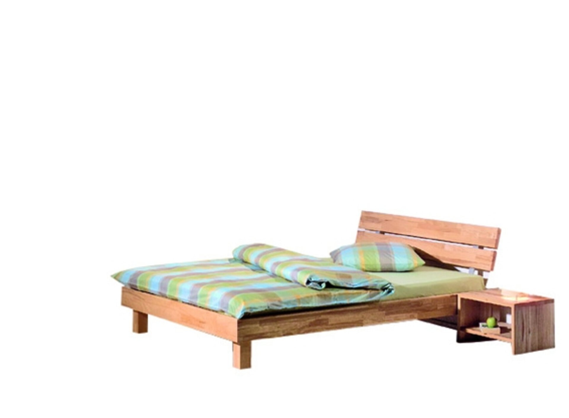 Nachttisch VARESE Modular Holz 32 x 37 x 42 cm