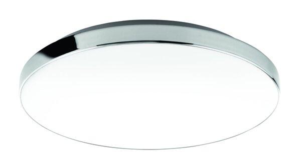Bad-Deckenleuchte Briloner Metall chrom ca. 36 cm x 7 cm x 36 cm