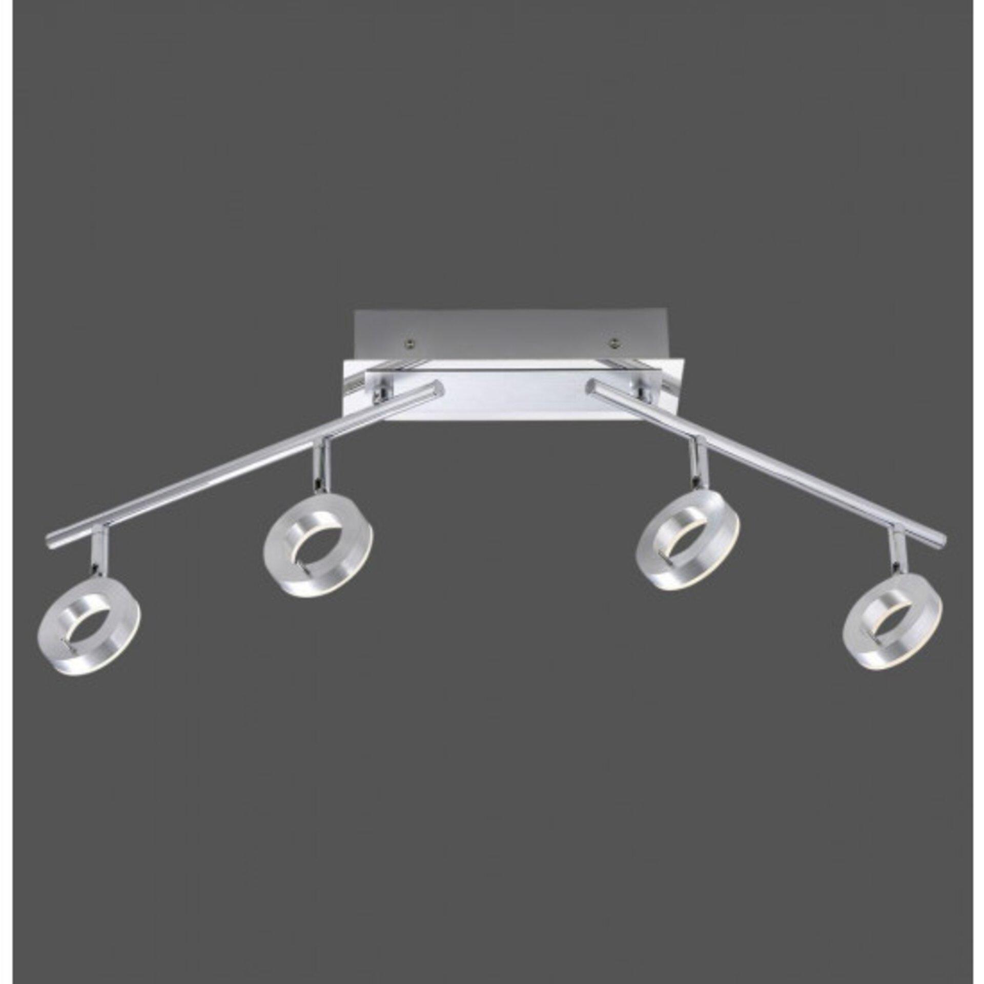 Deckenleuchte SILEDA Paul Neuhaus Metall silber 74 x 21 x 94 cm