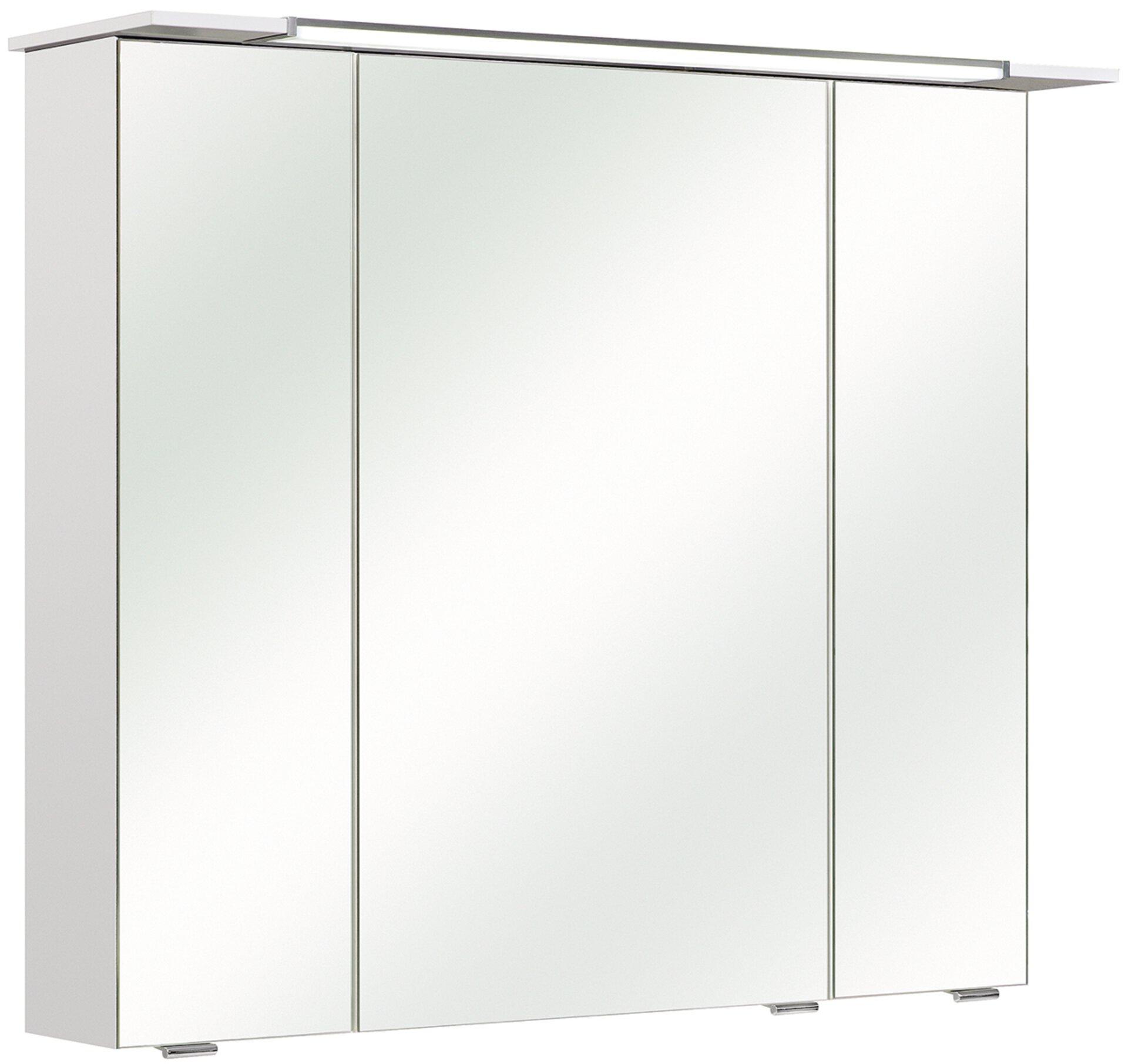 Spiegelschrank Licata PELIPAL Holzwerkstoff weiß