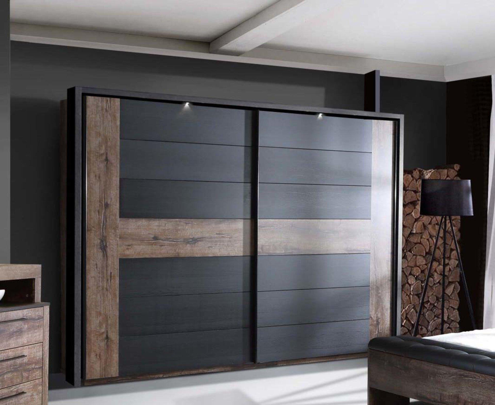 Schwebetürenschrank BELLEVUE Dreamoro Holzwerkstoff 61 x 210 x 270 cm