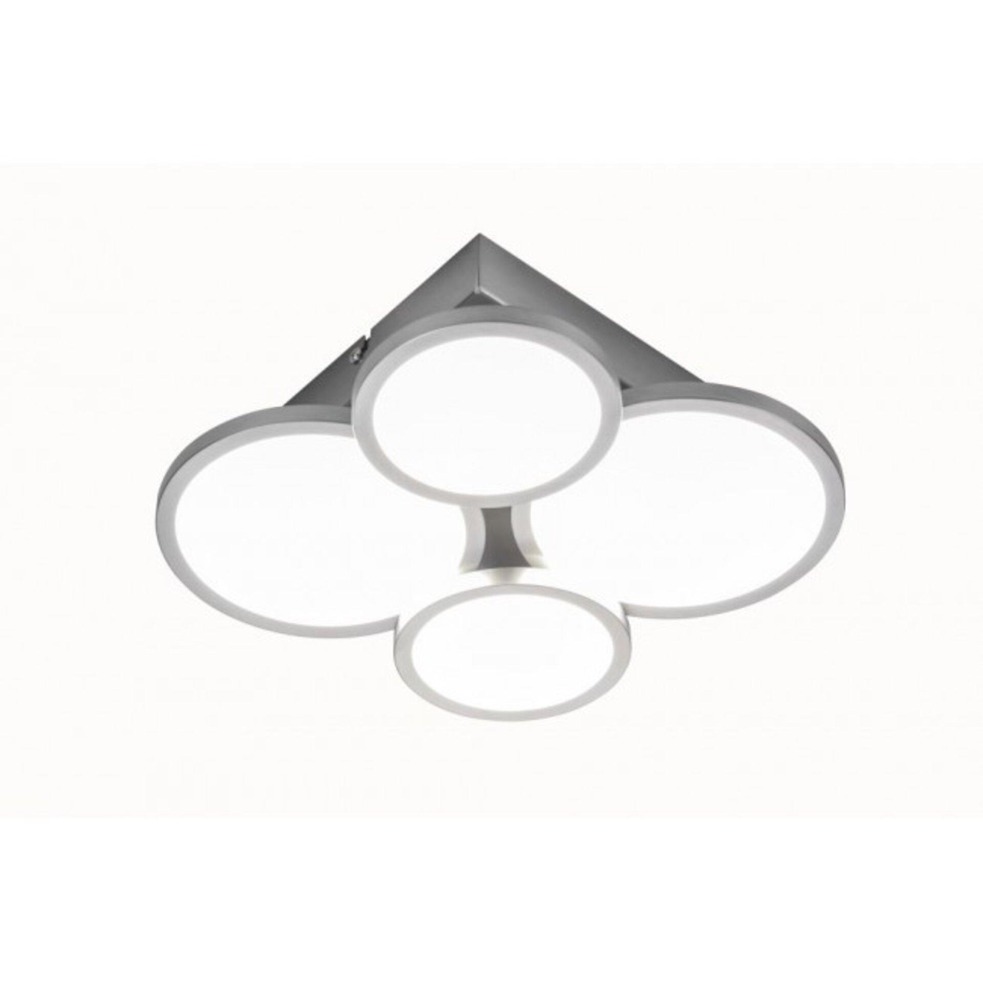 Deckenleuchte NEO Nino Leuchten Metall silber 26 x 8 x 26 cm