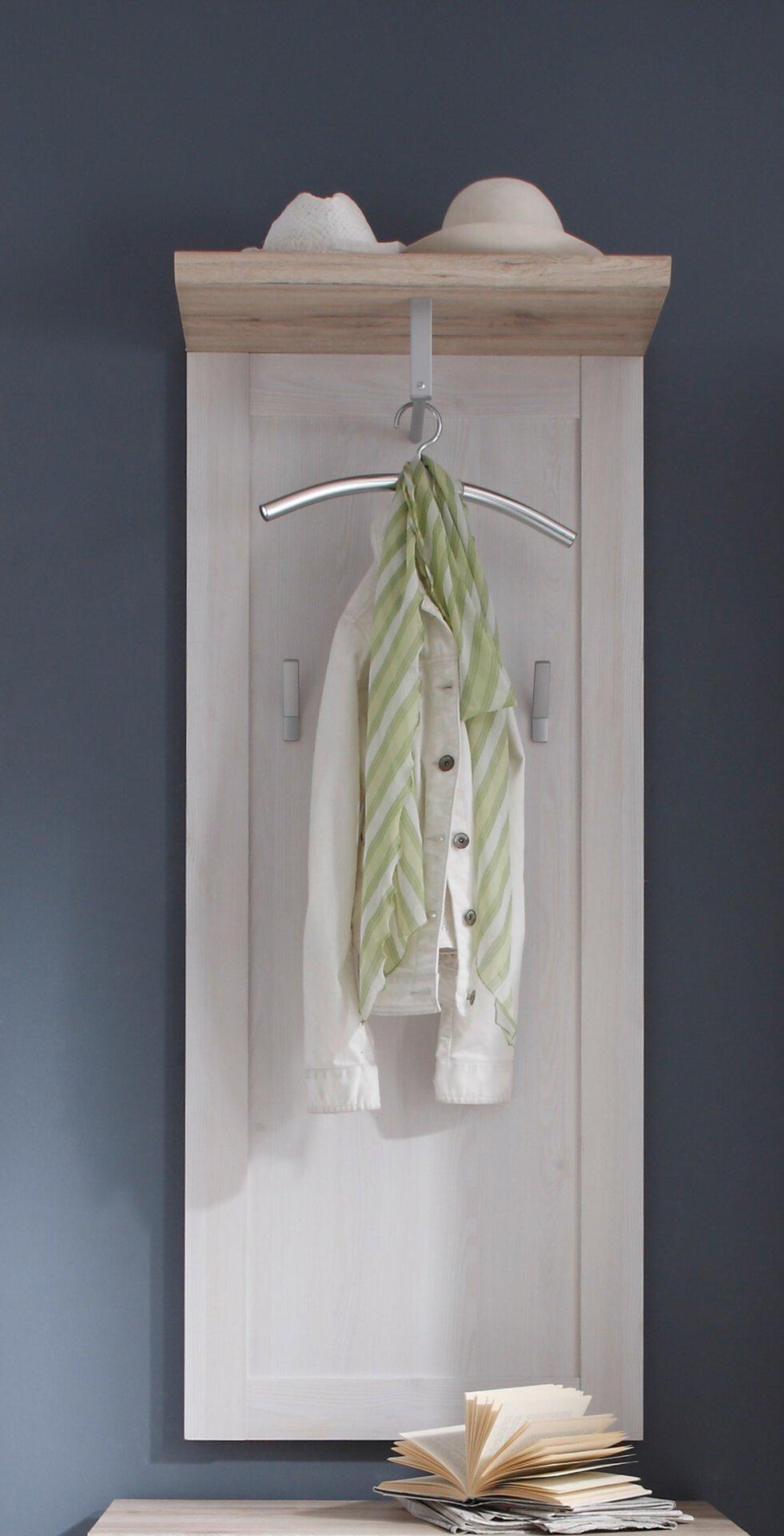 Garderobenpaneel ROMANCA inDoor Holzwerkstoff 30 x 143 x 59 cm