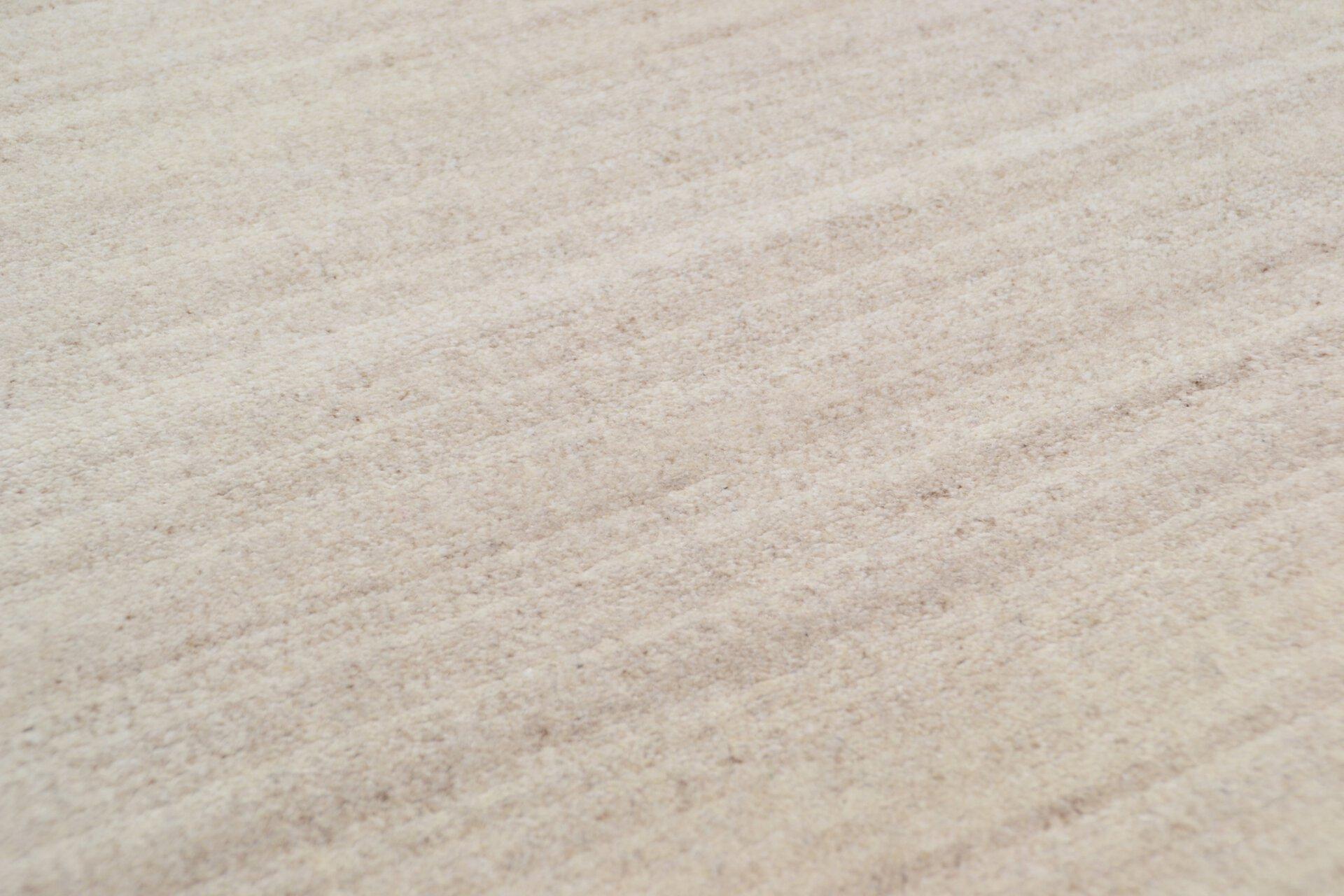 Handknüpfteppich Natpur Theko Textil braun 1 cm