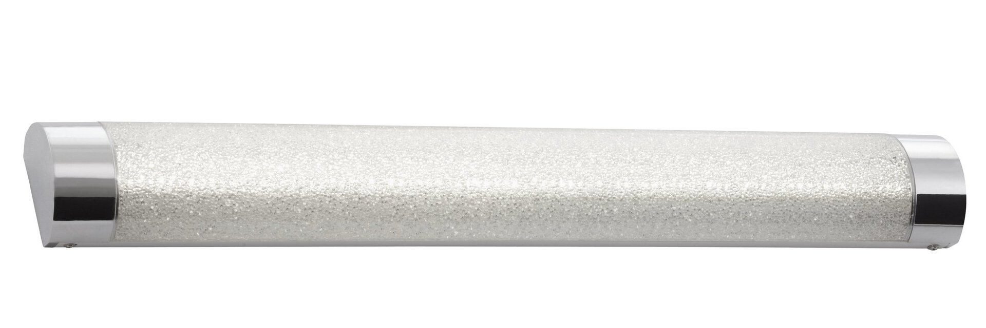 Bad-Wandleuchte Brilo Bath Briloner Metall silber 9 x 5 x 62 cm