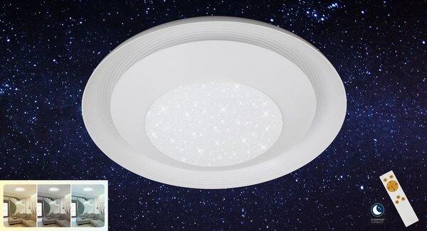 Deckenleuchte Briloner Metall weiß ca. 50 cm x 10 cm x 50 cm