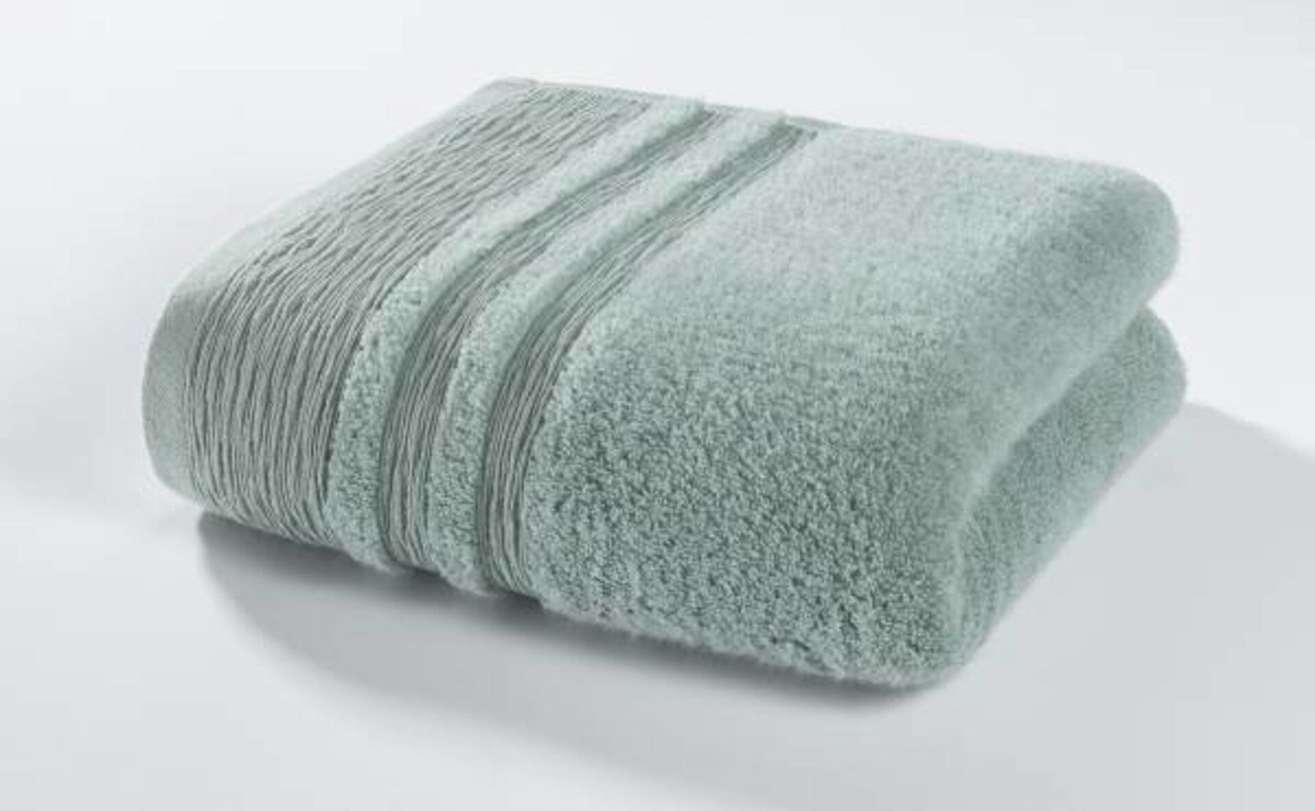 Badetuch Organic Kenborg Textil grün 100 x 150 cm