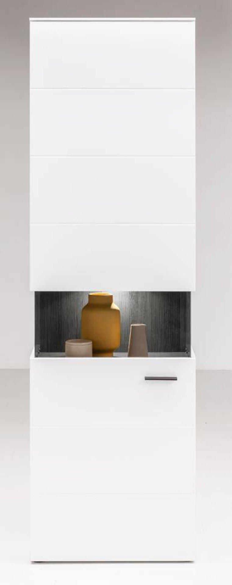 Vitrine MENDOZA106 LIV'IN Holzwerkstoff mehrfarbig 37 x 200 x 60 cm