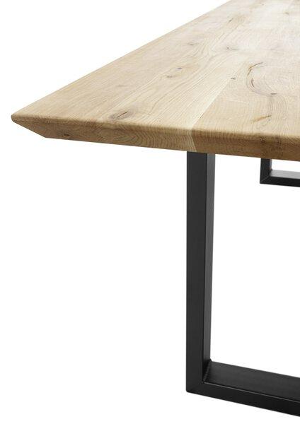Esstisch Dinett Holzwerkstoff braun ca. 100 cm x 74 cm x 200 cm